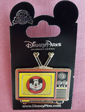 Disney Parks Pin Mickey Mouse Club Lenticular Television NewOn Card Open Edition