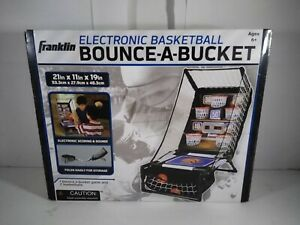 Franklin Sports Electronic Basketball Bounce A Bucket Arcade Game