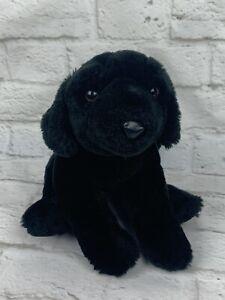 "Animal Alley Plush Black Labrador Retriever Lab 11"" Puppy Dog Stuffed Animal Toy"