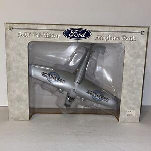 5-AT Tri-Motor Airplane Bank Ford Sealed