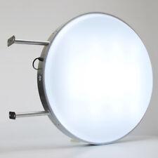 LED 80CM TONDO BIADESIVO Outdoor proiezione luce di segnale D80 in bianco