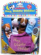 Hey Diddle Diddle: A Hand-Puppet Board Book