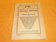 vibi catalogo generale 1956 il più ricco emporio d'europa fornitori specializzat