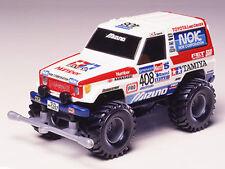 Comical Mini 4WD Toyota Land Cruiser(TeamACP 1990 Paris-Dakar specification)...