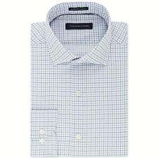 NEW Men's Tommy Hilfiger Plaid Button Up Dress Shirt Tall Fit 18 35/36 Reg $85