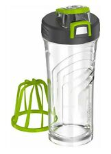 Thermos 24oz Shaker Bottle with Integrated Stationary Mixer Clear/Green ,  004