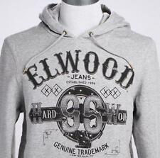 **NEW**ELWOOD**Grey hooded jumper - sz L/ XL mens RRP$99.99