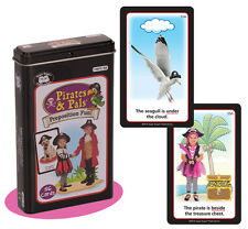 Pirates & Pals Preposition Flash Cards Super Duper Fun Deck Speech Language