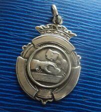 MEDAGLIA d'argento placcata Fob 1956 pur/Poker/Bridge Carte da gioco British Legion
