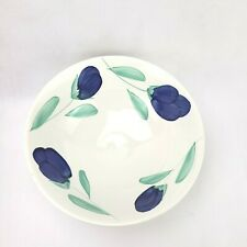 La Primula Hand Painted Pottery Large Mixing Bowl Made In Italy