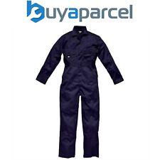 Dickies Navy Blue Coverall Overall Stud Front Size 52 WD4829N52