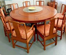 Beautiful Antique Rosewood(红酸枝) Huanghuali Dining Suite Table Set 10 Seater