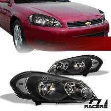 For 2006 2016 Chevy Impalalimitedmonte Carlo Black Headlights Corner Signal Nb Fits 2006 Impala