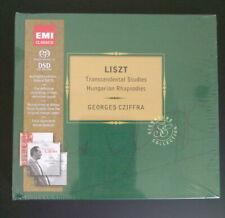 Georges Cziffra Liszt Transcendental Suites Hungarian Rhapsodies EMI 3 SACD disc