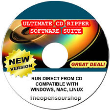 PRO CONVERTITORE MP3 MUSICA pacchetto software-convertire file audio sul vostro PC CD
