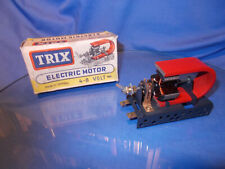 Alter Elektro-Motor für Trix-Metallbaukasten....ladenneu....60er Jahre