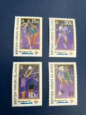 British Virgin Islands 1992 Olympics Set SG 827-830 UM MNH