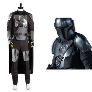 The Mandalorian S2 Beskar Armor Cosplay Costume Coat Suit Uniform Outfit Helmet