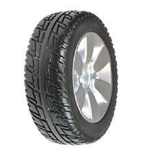 Jazzy Drive Wheels, 2 OEM Black Tires/Silver Mag Rims, Flat Free, Fits 6 Models