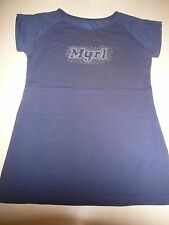 Mayoral Great T-Shirt Size 158/164 Blue with Logo Print!!!
