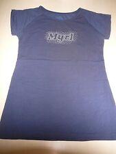 Mayoral tolles T-Shirt Gr. 158 / 164 blau mit Schriftzugdruck !!