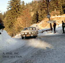 Ford Falcon Sprint 1964 Monte Carlo rally winning photograph photo rally racing