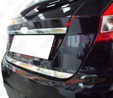 2009-2017 Ford Fiesta MK6 IV Chrome Rear Trunk Tailgate Boot Grab Trim S.Steel
