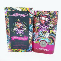 Hearts & Daggers ED HARDY 3.4 oz 100ml Women edp Perfume New In Sealed !!