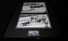 Bobby Orr Signed Framed 16x20 1970 Flying Goal Photo Display JSA Boston Bruins