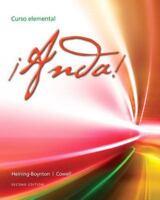 ¡Anda! Curso Elemental by Heining-Boynton and S. Cowell 2nd Edition (Loose-leaf)