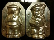 SAILOR MARINE SEEMANN DUTCH CHOCOLATE MOLD VINTAGE ANTIQUE