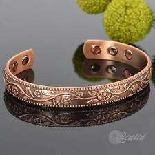 Ladies Copper Magnetic Bracelet Health Bangle 4 Arthritis Pain Relief – CBN Medium (wrist Size 17cm - 19cm)