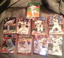 Lot Of 9 Rookie Cards Topps Baseball 2018 Series One - Devers-Andujar MLB