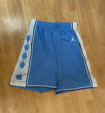 AUTHENTIC NIKE JORDAN UNC NORTH CAROLINA BASKETBALL NCAA SHORTS L