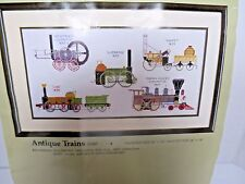 Something Special Antique Trains Counted Cross Stitch Kit 1987