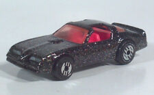 1992 Hot Wheels Hot Bird 1977 1978 Pontiac Firebird Diecast Black Glitter Paint