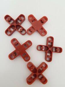 10mm tile spacers / patio cross spacers 10mm / 30 spacers supplied loose UK