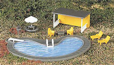 Bachmann Swimming Pool & Accessories #42215 - Suit HO Model Trains layout