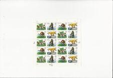 US Stamps Sheet/Postage Sct #3080a Prehistoric Animals MNH F-VF OG  FV$6.40