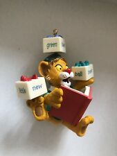 Hallmark Keepsake Ornament 2001 Lionel Plays With Words Between The Lions