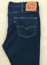 Levis 511 Slim Stretch Denim Jeans Mens W40 L30 Dark Blue Red Tab #2