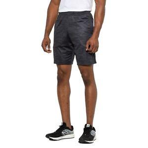 $35 New Under Armour MK1 Twist Shorts 3XL Men's Heat Gear Black Grey Running Gym