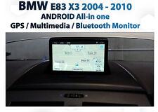 "BMW X3 E83 2004-2010 7"" GPS Navigation SAT NAV Rear view camera BLUETOOTH"