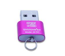 Memory Card Reader Slim Mini Fast Speed  USB 2.0 Micro SD TF T-Flash Adapter