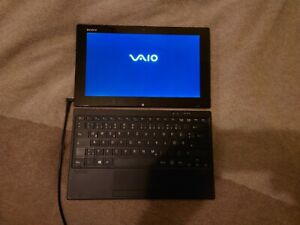 Sony VAIO Tap SVT1122I4EB Windows 10 11,6 Zoll Touch Convertible Tablet-PC