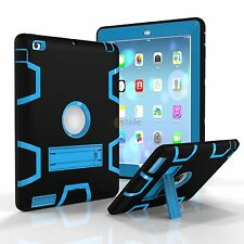 New Shockproof Heavy Duty Rubber Stand Protective Case Cover+Hard For iPad 2/3/4