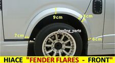 FENDER FLARES FOR TOYOTA HIACE 2004 - 2018