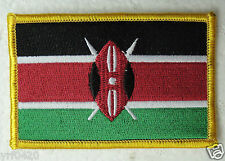 KENYA National Flag Patch Embroidery