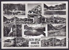 CUNEO VALLE VARAITA 02 PONTECHIANALE BELLINO SAMPEIRE CASTELDELFINO Cartolina