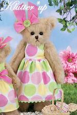 "Bearington Bear Girl Doll Spring #143251 BETSY BUTTONS 14"" Spring 2012"